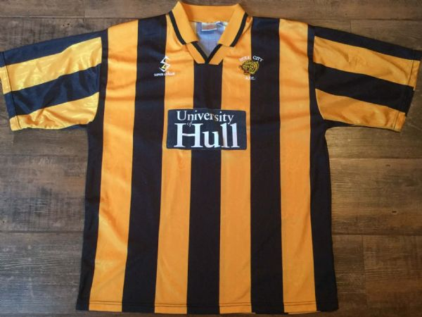1997 1998 Hull City Home Football Shirt Adults XL